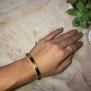 MK Stretchy Gold Bracelet